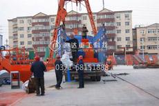 通达重工发往印度尼西亚1200型搅齿造粒机设备发货